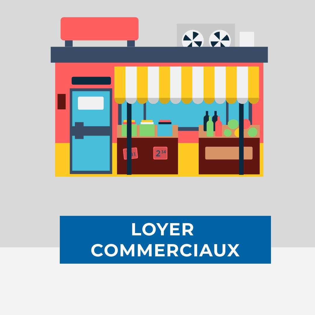 Loyer entreprise commerciaux covid-19